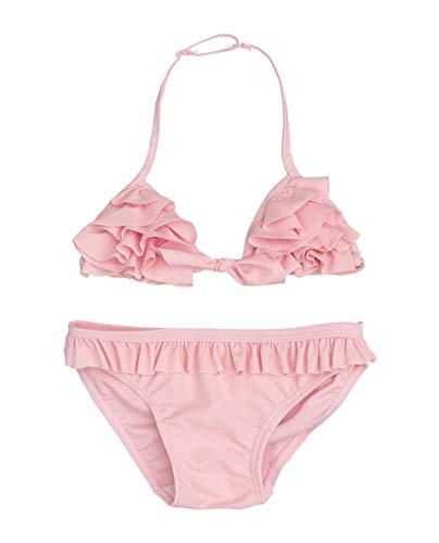GULLIVER Mädchen Bikini Set 2 Teiler Badeanzug Rosa Pink Kinder 98-122 cm