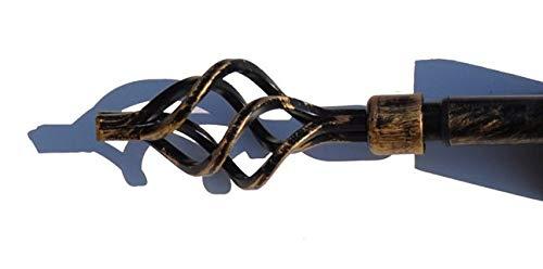 CASA TESSILE Aladin Bastone estendibile per tendone da 120 a 210 cm - Bronzo
