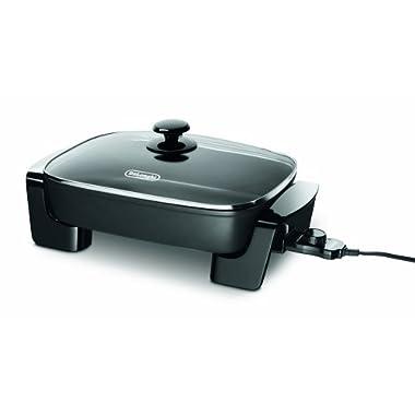 DeLonghi BG45 Electric Skillet, Black
