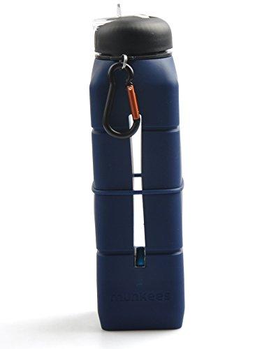 Sound munkees-bleu-bottle bouteille gourde de sport à l'école voyage camping