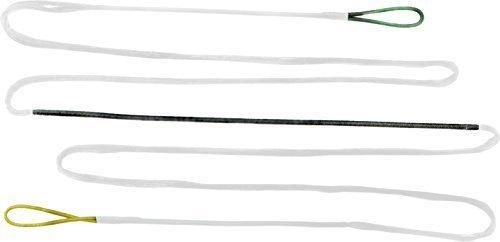 weiße Dacron Sehne 12 Strang für Bogenlänge 70 zoll, Bogensehne, Langbogen, Recurvebogen by Black Flash