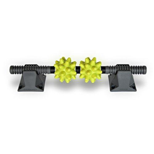 RumbleRoller Extra Firm Beastie bar with Stands, Green, One Size