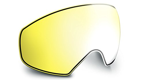 bollé R/L Supreme OTG Pantalla de Repuesto para Casco de esquí Unisex Adulto, Lemon Gun