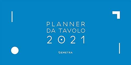 Calendario planner da tavolo 2021 (29 x 15,5)