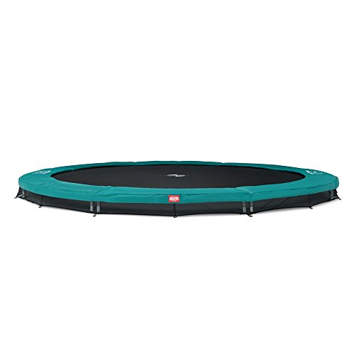 Trampoline - BERG Favorit Inground - 430 cm - Groen