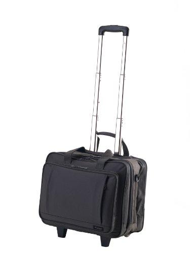 Hideo Wakamatsu Mars Business Trolley Laptop Bag Grey Rodrick Deck Daw