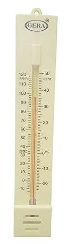 Sharda Enterprises Wall Hanging Room Thermometer (White)
