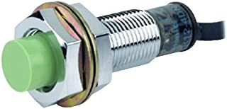 PR12-4DP - Inductive Proximity Sensor, PR Series, Cylindrical, Cable, 4mm, PNP, 10 V to 30 V (PR12-4DP) (Pack of 2)