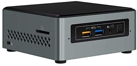 Intel Nuc Mini Komplett PC, Intel Dual Core 2 x 2,70 GHz, 8 GB DDR4 RAM, 256 GB SSD, USB 3.0, HDMI, Intel UHD Grafik, 4K Aufloesung, 3 Jahre Herstellergarantie, Windows 10 Pro