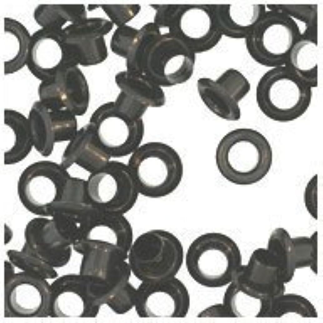 WIDGETCO 5mm Black Shelf Pin Sleeves