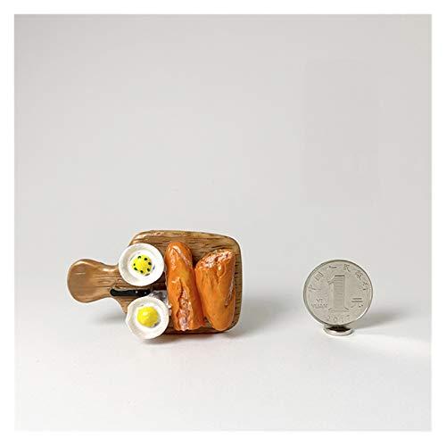 Yjswkfi Kühlschrankmagnet Nachahmung Lebensmittel Kühlschrank Paste 3D Eierbrot Kinder Magnet Kühlschrankmagnet Paste Nachricht Stick Home Decoration (Color : Chopping Board)