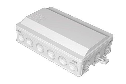 Feuchtraum Verteilerabzweigdose Verteilerdose Verbindungsdose IP 54 90 x130mm