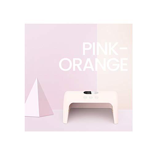 MODRYER 3 Tiempo Predeterminado Y Automático Apagar 30W LED Esmalte De Uñas De Gel para Pulido,Pink