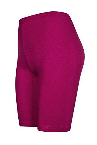 DeDavide - Radsport-3/4-Hosen für Mädchen in Pink, Größe 122