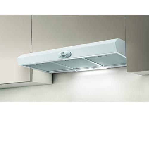 Elica KREA GFA WH/F/90 - Cappa Cucina Filtrante da 90 cm, Tipologia Sottopensile, Bianco