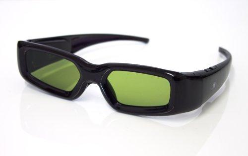 PRECORN 3D Gafas Activos Obturador Universales para Panasonic Samsung Philips LG Sharp Toshiba y mas