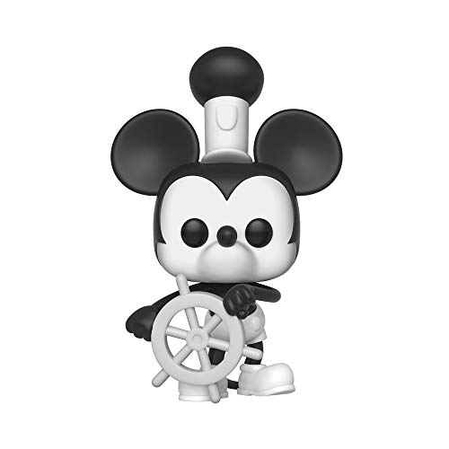 Funko Pop Disney: Mickey's 90Th - Steamboat Willie Collectible Figure, Multicolor