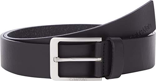 Calvin Klein Vital 35mm Cinturn, CK Negro, 85 para Hombre