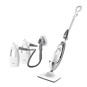 LIGHT 'N' EASY Steam Mop with Detachable Handheld Steamers Cleaner Review