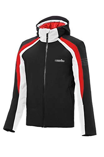 zerorh+ Portillo, Abbigliamento Man Snow Jacket Uomo, Black/Red/White, 3XL