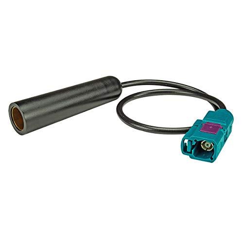 tomzz Audio 1500-019 Fakra (F) Antennenadapter Kupplung auf DIN Kupplung (F) Buchse