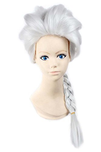 Generic Anime Parti Costume Fille Marron tresse cheveux cosplay perruques
