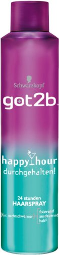 got2b Happy Hour Haarspray, 6er Pack (6 x 300 ml)