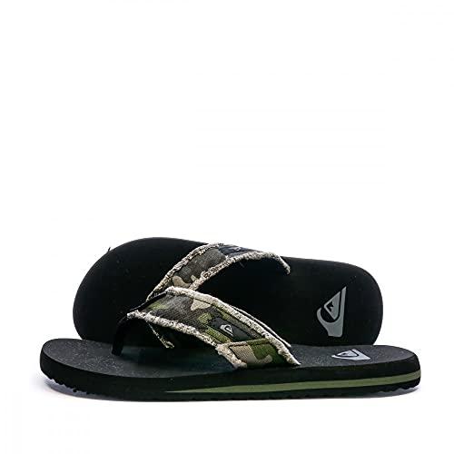 Quiksilver Monkey Abyss, Zapatos De Playa Y Piscina Hombre, Verde (Green/Brown/Black Xgck), 42 EU