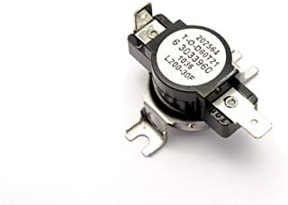 Whirlpool 303396 High Limit Thermostat For Dryer