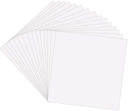 15 Pack 6 Mil Clear Mylar Stencil Sheets 12 X 24 Blank Stencils Reusable Template Material Make Your Own Stencil Compatible Vinyl Cutting Machine Buy Online In Trinidad And Tobago At Desertcart