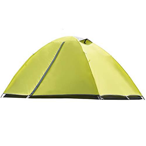 NHJUIJ 2 Personas para Acampar Tienda Camping Desplegable Pop Up Tienda De Campaña Portátil Impermeable Ventilación Ideal para Practicar Senderismo Y Actividades Al Aire Libre,Verde