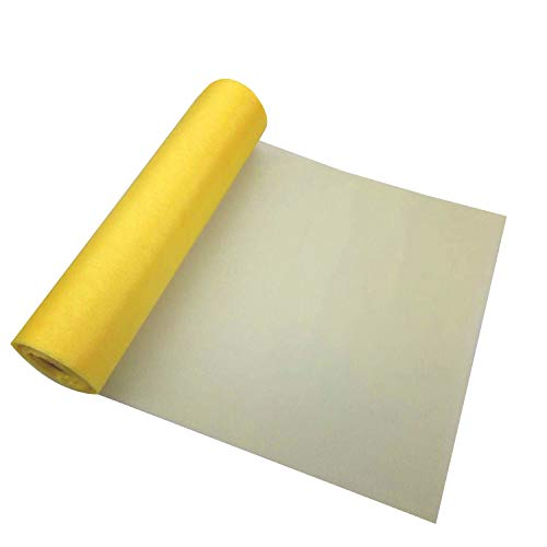Chancery Chair Covers 29Cm X 26M Sheer Organza Roll Lemon - Perfect As Christmas Decorations, Table Runners Or Chair Sashes Fabric