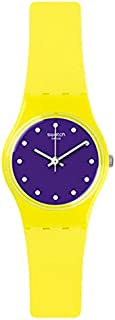 Swatch Women's LJ110 Camojaune Year-Round Analog Quartz Yellow Watch