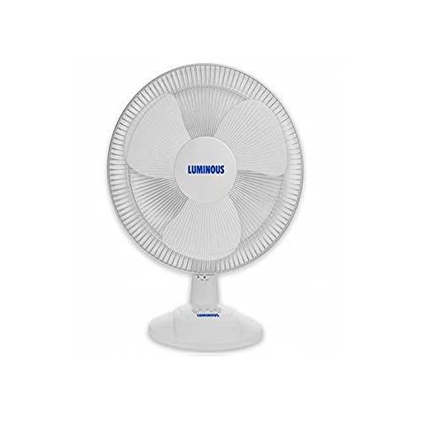 Luminous SpeedPRO 400MM Table Fan (White)