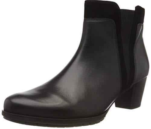 Gabor Shoes Damen Comfort Basic Stiefeletten, Schwarz (Schwarz (Micro) 57), 40.5 EU