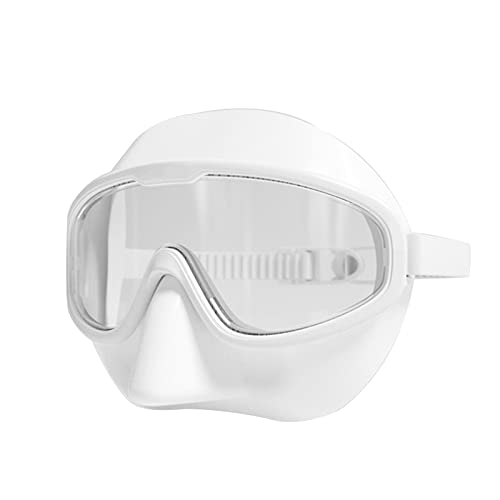 nunca te rindas Gafas De Natación, Gafas De Buceo, Gafas De Rana De Nariz Adulta, Máscara De Snorkeling De Natación Anti-Choking, Equipo De Buceo Gratis(Color:B)