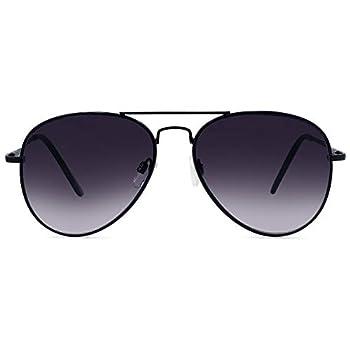 In Style Eyes C Moore Full Reader Aviator Sunglasses Black 2.0x
