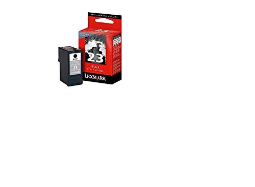 Lexmark 18C1523E 23 Tintenpatrone Standardkapazität 215 Seiten Rückgabe, schwarz