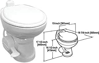 Sealand 302310111 Traveler® Lite&trade Series Lightw8 China Toilets for Towables