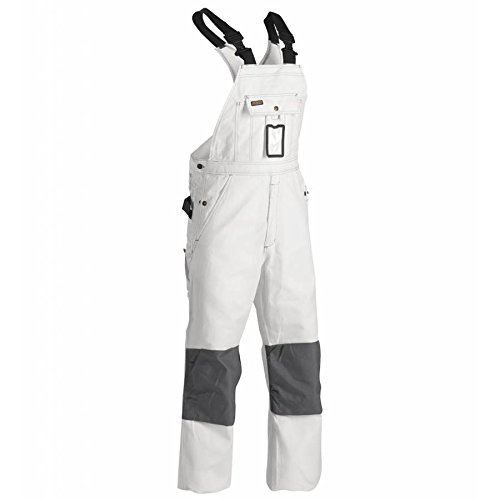 Blåkläder Workwear 67-26111210-1000-C156 Arbeits-Latzhose Maler 2611', 1 Stück C156, weiß, 156