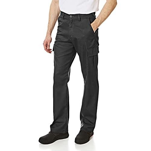 Lee Cooper Mens Classic Workwear Pant Cargo Trouser, Black, 34W/31L...
