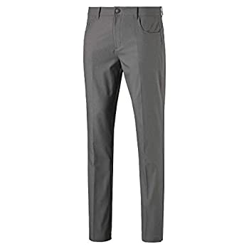 Puma Men s Golf 2019 Jackpot 5 Pocket Pant Quiet Shade 32 x 32