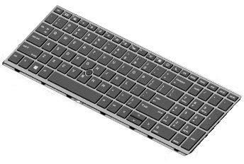 HP Keyboard SR 15 RUS No Backlight, L14367-251 (No Backlight)