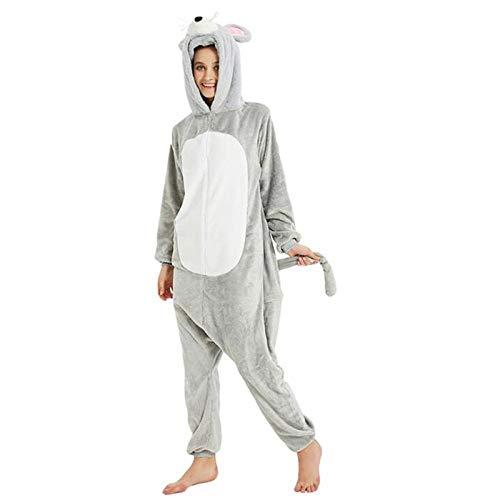 Qaoping Ropa de Dormir Pijama Adulto Dibujos Animados Pijama Animal Halloween Fiesta Traje Traje de Pijama Estilo Mono Disfraz