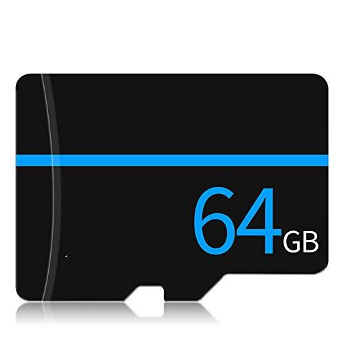 Tarjeta De Memoria Micro SDXC Alta Alta Velocidad C10 Tarjeta De Almacenamiento Tarjeta De Memoria Del Teléfono Tarjeta TF Tarjeta De CD 4GB A 256GB Aplicar Para Camara De Video Sonido (64GB)