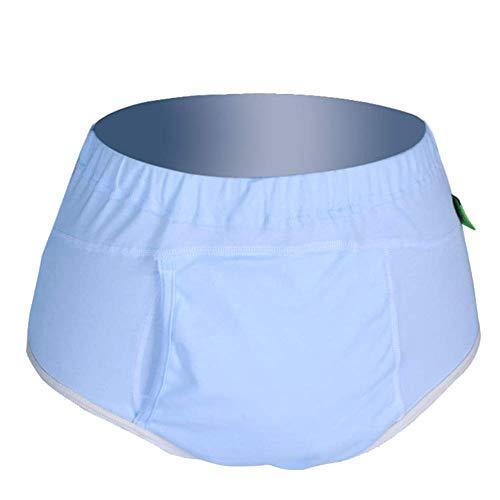 GHzzY onderbroek van katoen voor incontinentie met absorberend gedeelte, herbruikbare slip voor speciaal ondergoed voor dames en heren