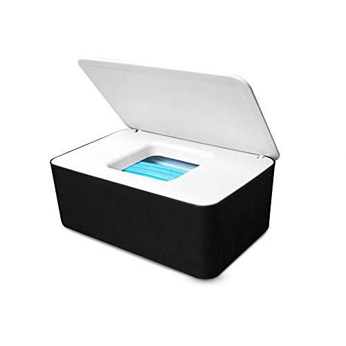 Yemiany caja para toallitas húmedas bebe,Caja De Pañuelos,Escritorio sellado Caja de pañuelos Toallitas húmedas Caja de almacenamiento con soporte para dispensador para en casa(18,5 x 12,2 x 7 cm)