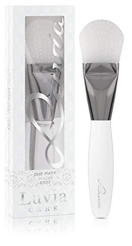 Luvia Maskenpinsel Silikon S502: Duo Silikonpinsel Für Masken, Gesichtsmaske, Augenmaske & Serum