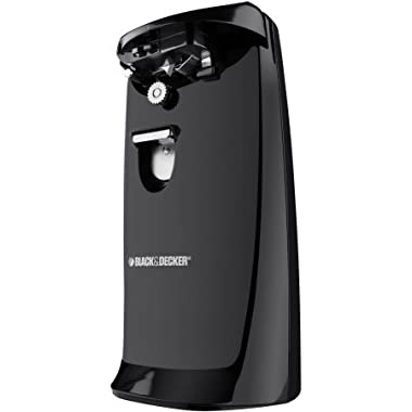Black & Decker Can Opener with Knife Sharpener