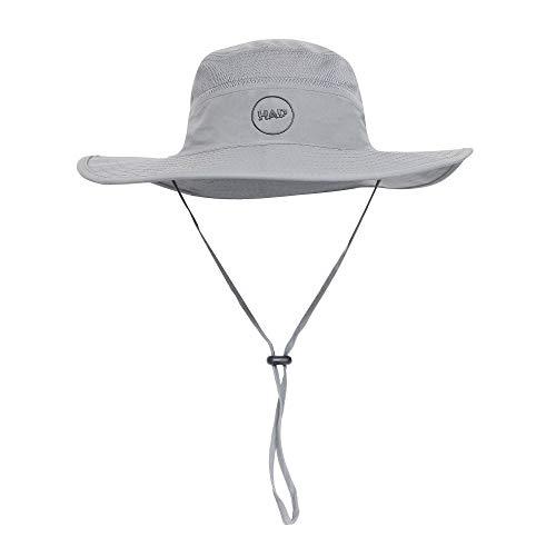 HAD® Chapeau de Safari pour Adulte - Taille Unique - Argenté
